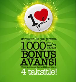 Avans Bonus Kampanyasi