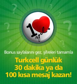 Turkcell'den 30 Dakika Bonus