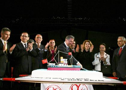 Ataturk'un Dogum Gunu Pastasi
