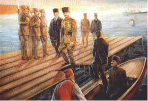Mustafa Kemal'in Samsun'a Cikişi