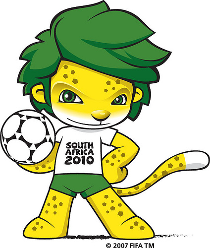 Zakumi, 2010 FIFA Dunya Kupasi maskotu