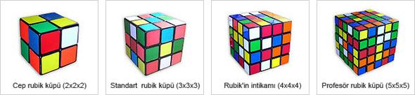 Rubik Kupu'nun Ceşitleri
