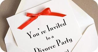 Boşanma Partisi Davetiye Örneği