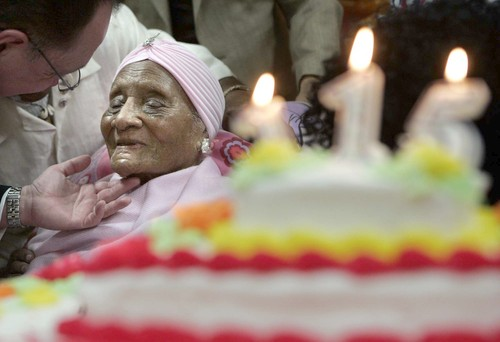 Gertrude Baines 115. Doğum Günü