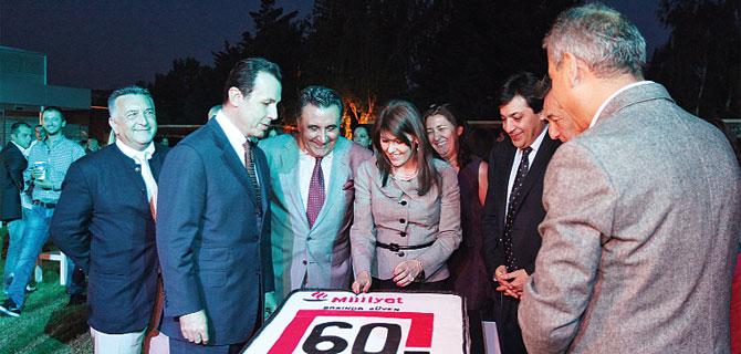Milliyet Gazetesi 60. Yil Pastasi